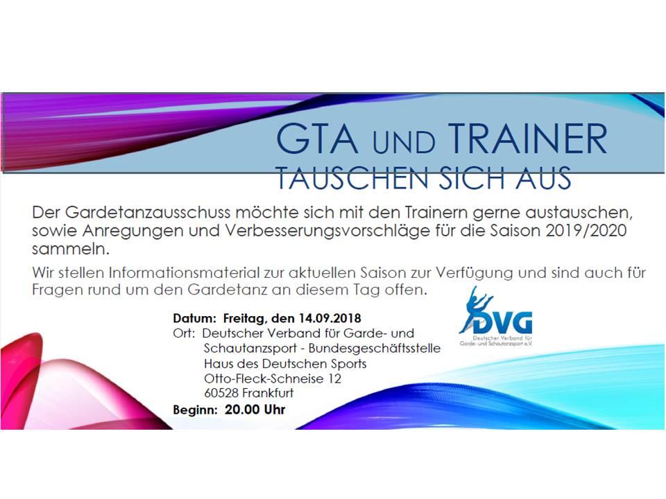 GTA / Trainer Austausch